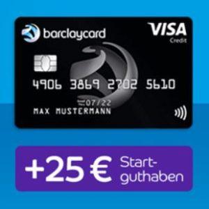 [TOP] 25€ Prämie für die Barclaycard Visa 💳 (dauerhaft beitragsfrei)