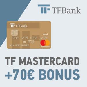 [Knaller] TF Mastercard Gold mit 70€ Bonus 💰 dauerhaft kostenlos