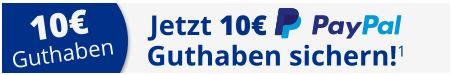 10 Euro Paypal Guthaben sichern
