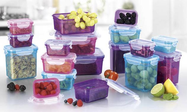 18x Frischhaltedosen Klick it Plastik Brotdose Lunchbox Aufbewahrung Mikrowelle eBay