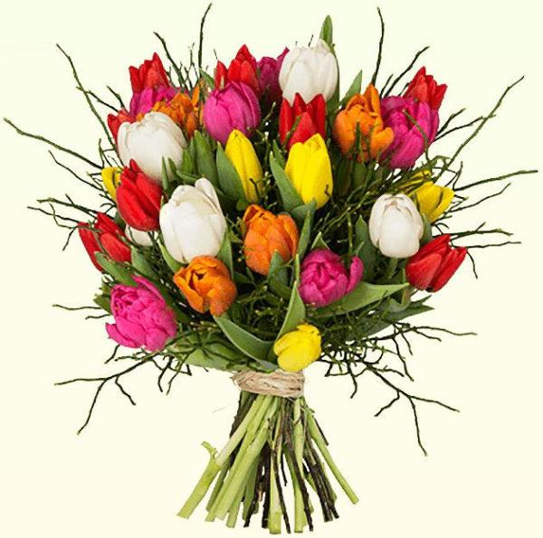 Blumeideal Modern Love Tulpen Strauss