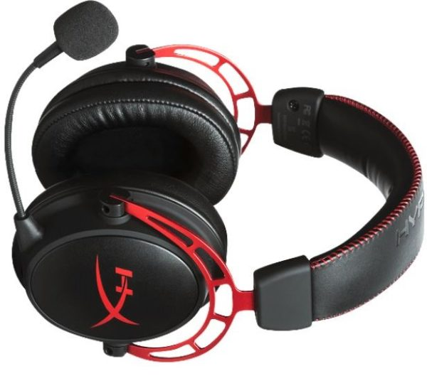 HYPERX HX HSCA RD EM ER Cloud Alpha Gaming Headset