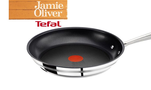 Jamie Oliver Pfanne 28cm mit Pro Antihaft und Thermo Spot