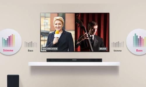 LG SK5 2.1 Soundbar mit kabellosem Subwoofer
