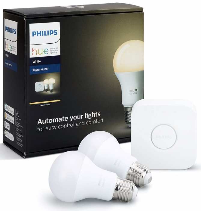 Philips Hue White Starter Set 3 Gluehlampen Bridge fuer Hue Lichtsystem E27 Online kaufen im GRAVIS Shop Autorisierter Ap 2019 08 05 12 02 05