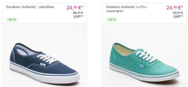 VANS Sneakers bei Vente Privee