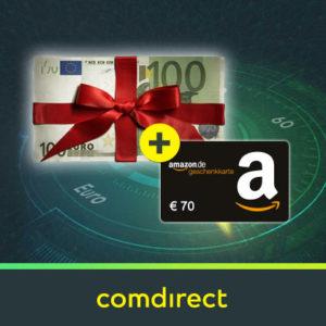 [Knaller] 🤑 Kostenloses comdirect Depot mit bis zu 220€ Prämie (schufa-frei)