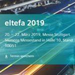 Gratis Tickets: eltefa 2019 Messe (Stuttgart)