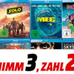 🍿 3-für-2 Aktion mit Blu-rays, DVDs & CDs, z.B. Harry Potter Steelbook