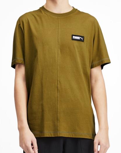 Fusion Herren T Shirt  Moss Green  PUMA Kleidung  PUMA Deutschland 2019 11 27 18 16