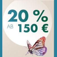 Galeria Kaufhof bis zu 20 Prozent Sofort Rabatt 2