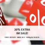 👖 20% Gutschein für den Sale + keine VSK, z.B. 4er Pack J&J T-Shirts