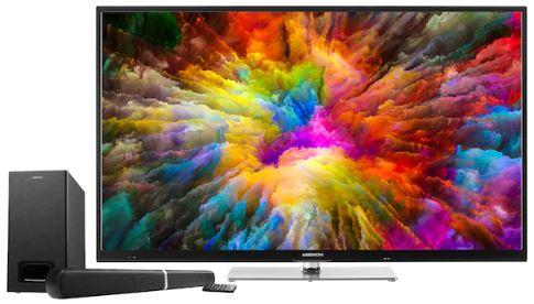 Medion X14321 Ultra HD Smart TV mit gratis Soundbar 1