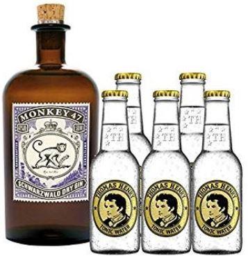 Monkey 47 Gin im SPARSET mit 5x Thomas Henry Tonic