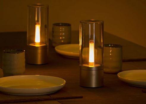 Yeelight YLFW01YL Smart Kerzenlicht fuer Atmosphaere