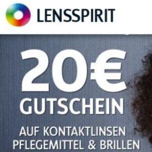 Lensspirit: 20€ Rabatt ab 40€ MBW + 5€ Amazon-Gutschein