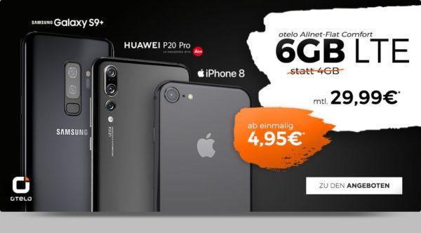 otelo iphone8 s9plus p20pro maerz 2019