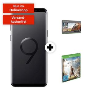 [TOP] 139€ Ersparnis: Galaxy S9 + Xbox One X + AC: Odyssey + eff. gratis Allnet-Flat mit 8GB (D2)