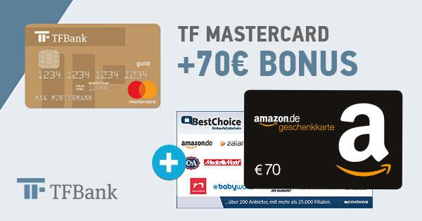 tf bank bonus deal 70 eur post
