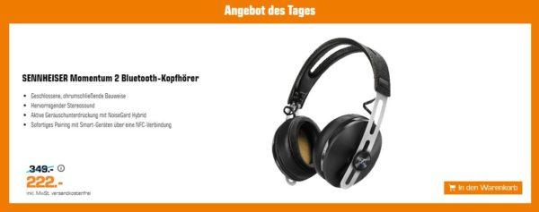 2019 04 01 20 22 07 SENNHEISER 506250 MOMENTUM 2 Wireless Kopfhoerer mit Bluetooth in Schwarz kaufen