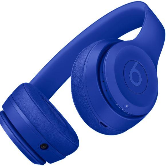BEATS Solo 3 Wireless Kopfhoerer mit Bluetooth in Tiefblau kaufen   SATURN