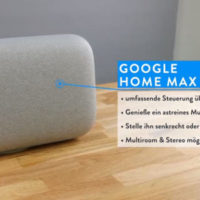 Google Home Max u Google Home mini