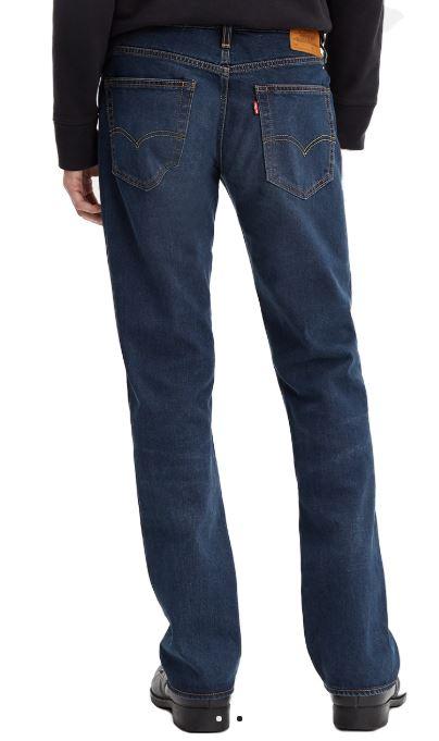 Levis Herren Jeans 527 Bootcut Blau Blue Black