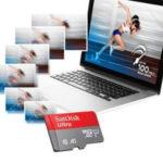 SanDisk Ultra microSD mit 64GB (Class 10 + A1)