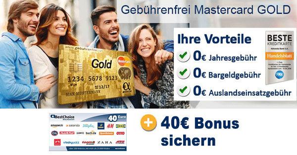 advanzia mastercard gold bonus deal post