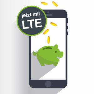Mtl. kündbar 💥 D2 Allnet-Flat mit 3GB bis 8GB LTE ab 9,99€ (+ keine AG)