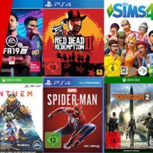 [Letzte Chance] 🎁🎮 5 Spiele kaufen & nur 3 bezahlen (PS4, XBox One, PC & Switch)