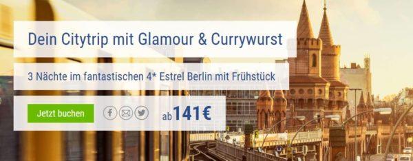 Berliner Hotel Estrel 3x Uf Ab 114 Pro Person Mytopdeals