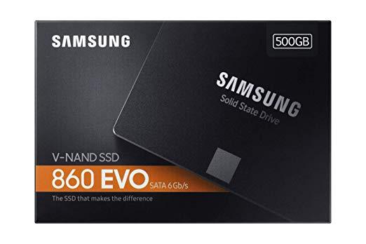 Samsung Evo 860: interne SSD mit 1TB (mit 5 Jahren Garantie)