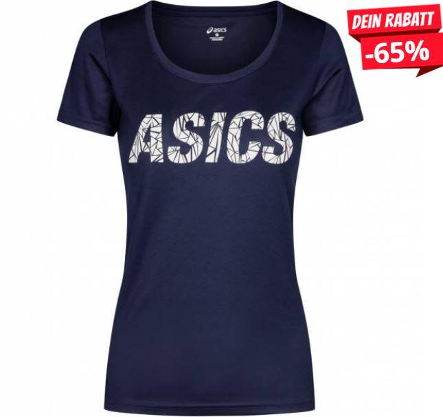 ASICS Graphic Sport Tee Damen Fitness T Shirt 140729 0891