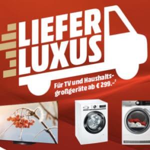 MediaMarkt Lieferluxus 🚚📦 Lieferung, Aufbau & Anschluss für nur 19€