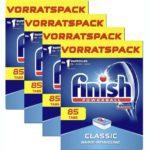 340 Finish Classic Basis-Reinigung Spülmaschinentabs mit Powerball