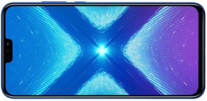 Honor 8X Smartphone 64GB blau e1558101964654