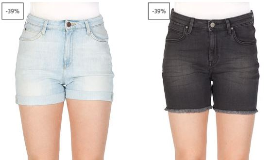 Lee Damen Jeans Shorts