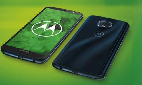 MOTOROLA Moto g6 plus Smartphone 64 GB Deep Indigo Dual SIM