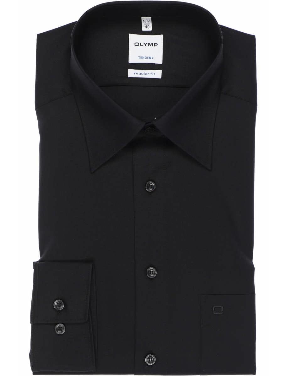 Olymp Tendenz Hemd in Langarm 64cm schwarz Einfarbig Hemden.de 2019 06 03 11 32 45