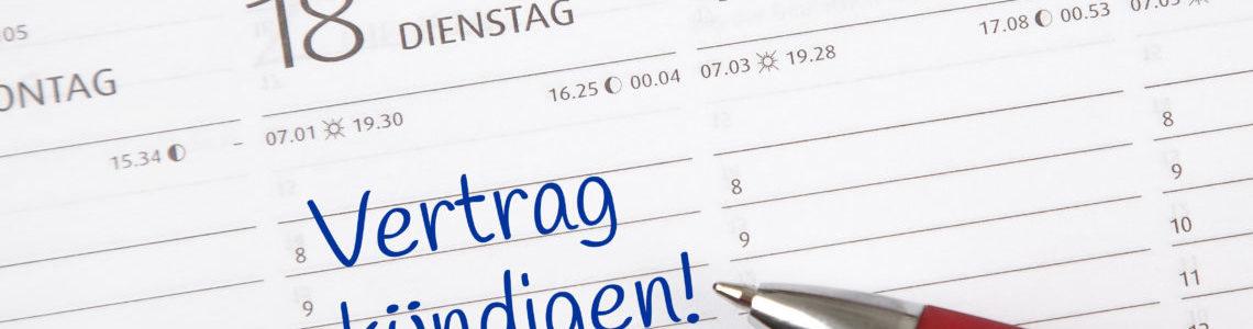 Handyvertrag richtig kündigen (Telekom, Vodafone, o2 ...