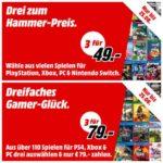 🎮 Media Markt: 3x Games für 49€ // 79€ (PS4, Switch, Xbox, PC)