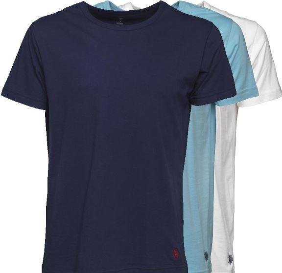 2019 07 03 14 18 45 U.S. POLO ASSN. Herren Drei Pack T Shirt Mehrfarbig