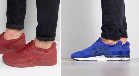 ASICS Tiger GEL Respector Sneaker stark reduziert 2
