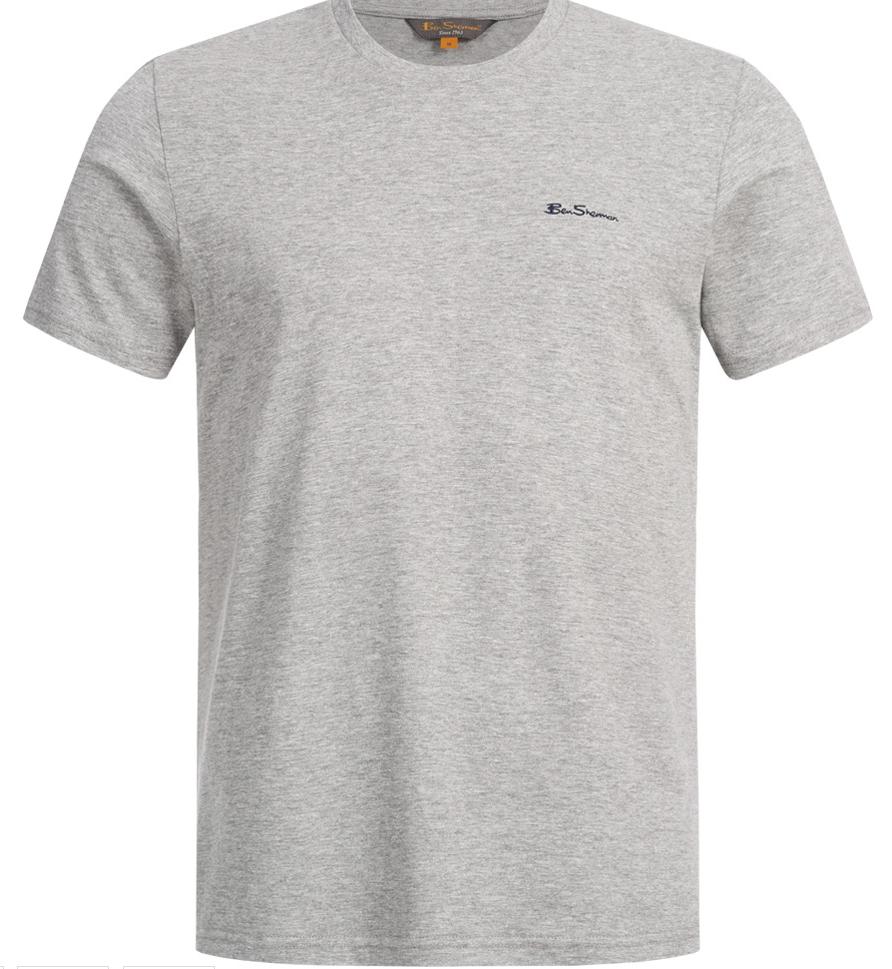 BEN SHERMAN Herren T Shirt 0059995 009 Grey SportSpar 2019 06 26 17 29 11