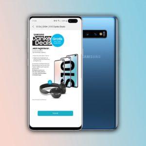 D1-Netz 🔥 Allnet-Flat mit 1,75GB LTE + Samsung Galaxy S10 + Gear Sport