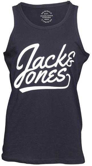 JACK AND JONES Herren Anything Top Navy