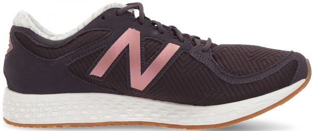 New Balance Fresh Foam Sneaker dark plum