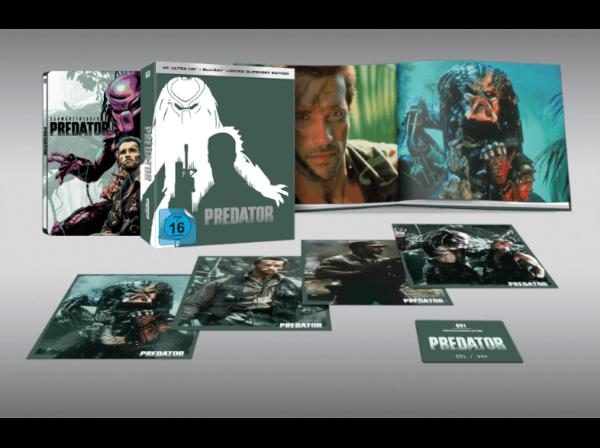 Predator Limited Slipsheet Edition nummeriert auf 444 Stueck