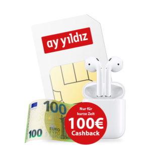 P/L-Tipp 🔥 o2 Allnet-Flat mit 4,5GB LTE + 100€ Cashback + Apple AirPods 2